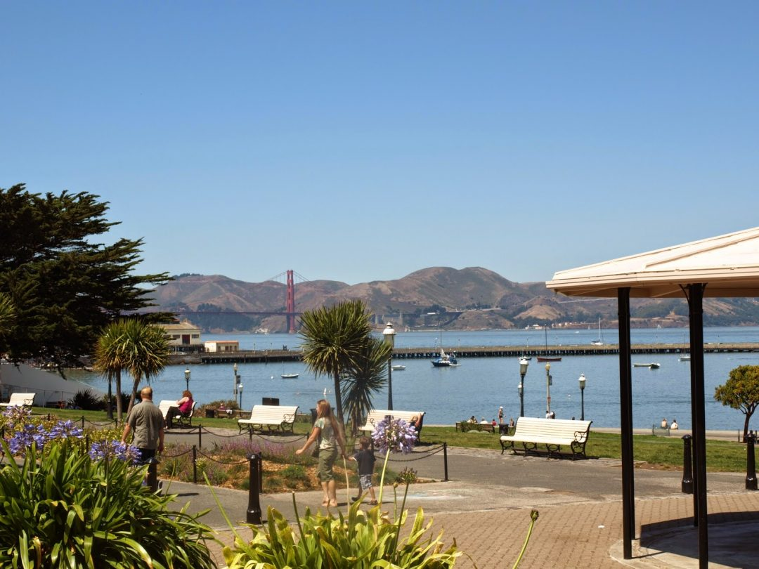 Golden Gate Bridge from Marina Green (San Francisco) | California