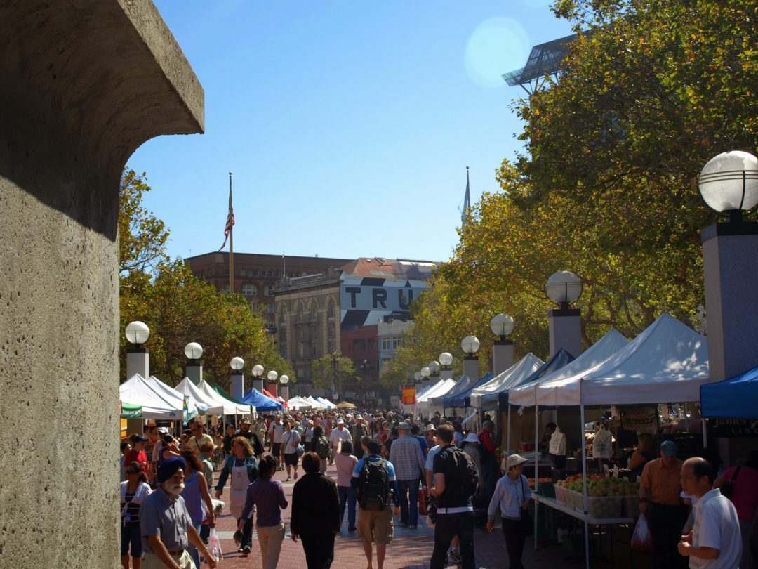 Market St. on market day (San Francisco) | wanderwings