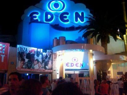 eden nightclub spain