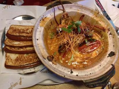 Sweet chilli lobster