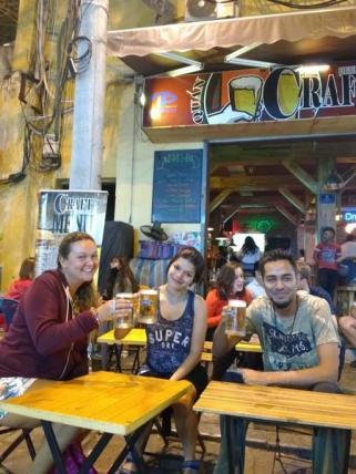 beer at hanoi old quarter