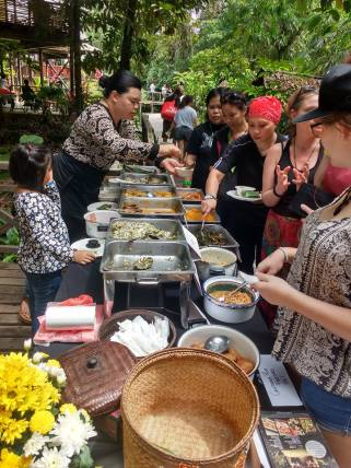Food stalls at RWMF