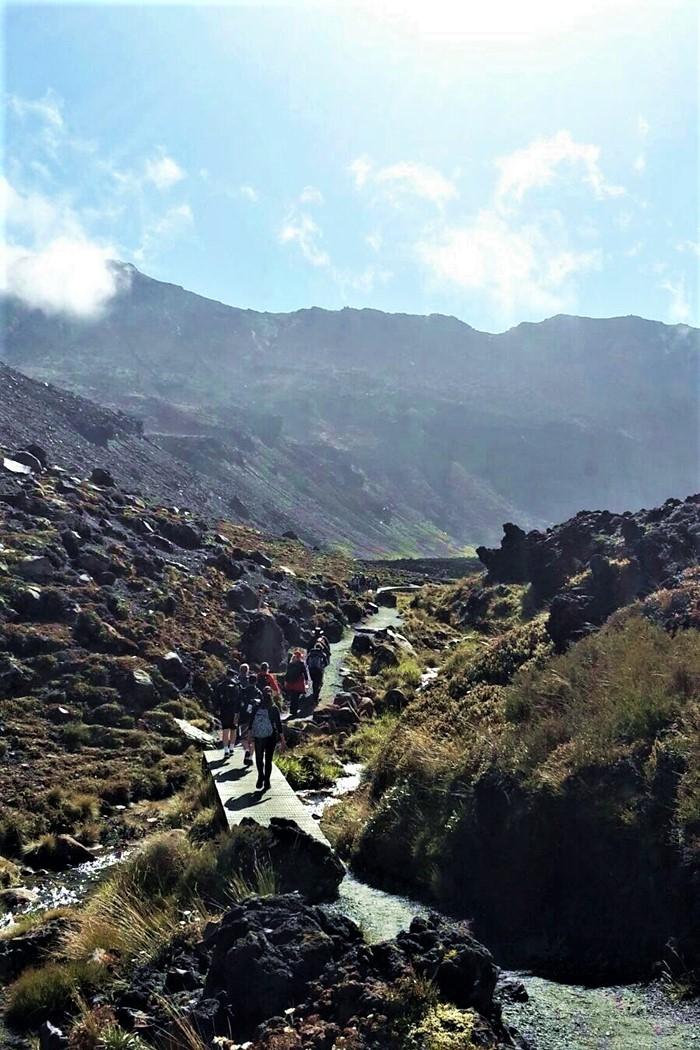 Tongariro Crossing walk