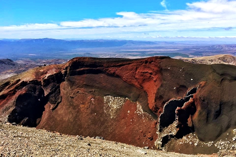 red crater tongariro crossing