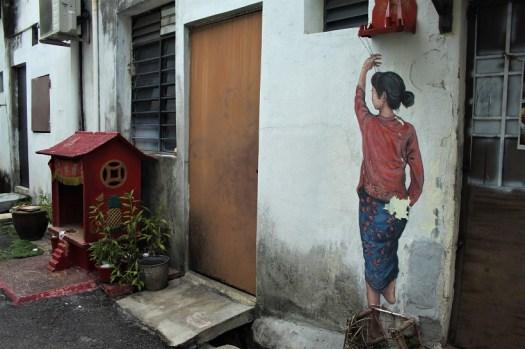 Georgetown street art Malaysia