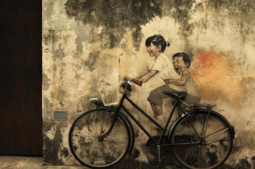 Kids on Bicycle Georgetown