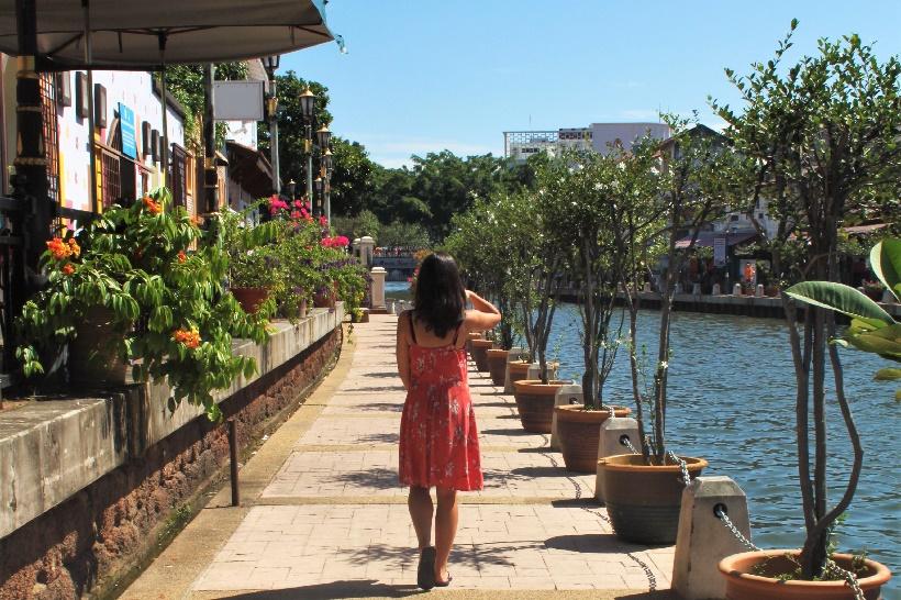 sunny day in Melaka