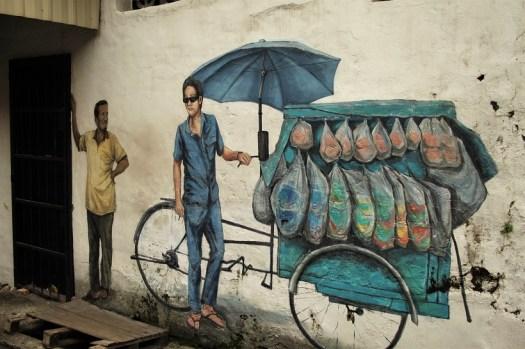 Street art Malaysia