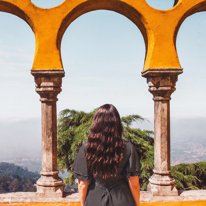 Girl at Pena Palace, Sintra