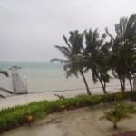 Hurricane Ernesto at Ambergris Caye