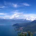 From the top of Volcan San Pedro, Guatemala