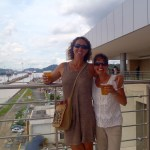 Mandy and I at the Panama Canal