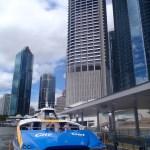 The City Cat in Brisbane