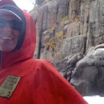 Freezing with the seals on the Tasman Peninsula