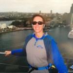 Atop the Sydney Harbor Bridge