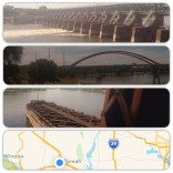 Followed the Mississippi to WI