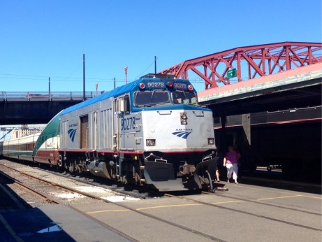 Amtrak in Portland