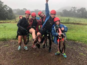 group pos3 before zip lining