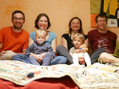 Andrea, Christian, Lukas, Antonia, Antonia und Daniel