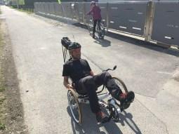 Trike fahren ist so cool! Danke Kristijan für die Chance!