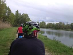 Off road Drauradweg - voll idyllisch!
