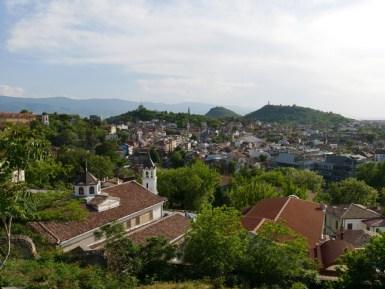 Blick über Plovdiv.