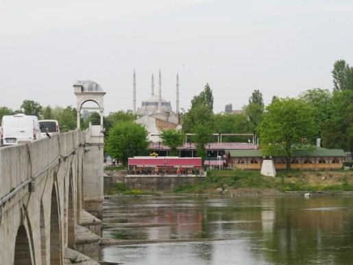 Erste Moschee in der Türkei.