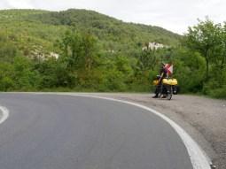 Die einzige einspurige Strasse in der Türkei.