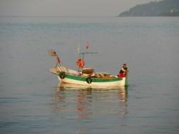 Fisherman at Black Sea.