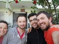 Antonia, Halali, Halali und Daniel in Samsun. Hope you got your exam outcomes!