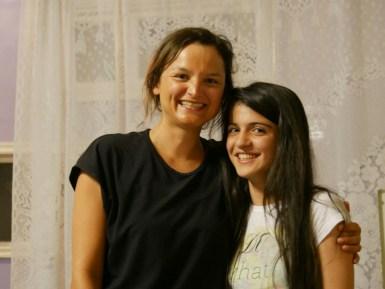 Antonia and Leyla.