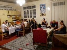 Familienabend in Sheki.//Family eveneing in Sheki.
