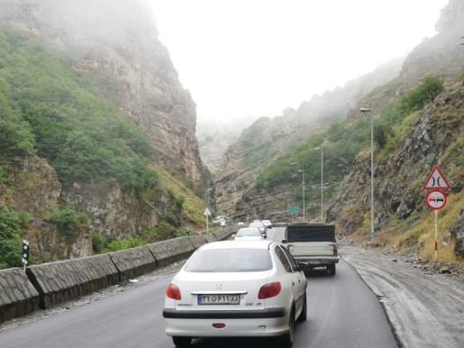 Pass nach Teheran.// Pass to Teheran.