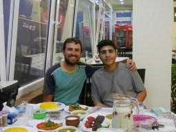 Daniel und Ali.