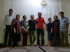 Family of Teymor, Antonia, Daniel, Nima, Rooshanak, Teymor.