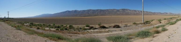 Cultivated desert.// Bewirtschaftete Wüste.