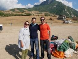 Antonia, Mohammed (aka Quack der Bruchpilot// Quack, the crash pilot), Daniel.