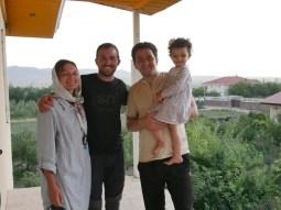 Antonia, Daniel, Mahmoodreza, Helma.