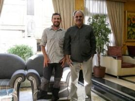 Daniel and Mr. Shammasi, Hassans dad.