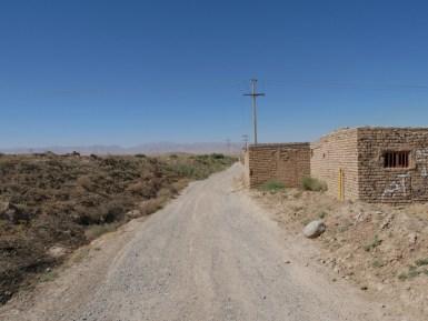 Desert road.// Wüstenstraße.