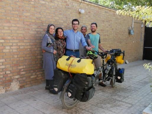 Wahab, his fiancee and parents, Daniel.