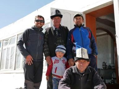 Daniel, Edik, Arslan and neighbours.