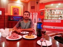 Russendisko 2, wieder mit leckerem Salat!// Russian club 2 - again with delicious salad!