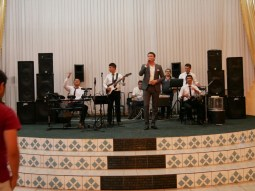 Band at the wedding.// Band bei der Hochzeit.