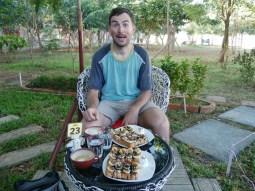 Banane-Schoki-Tost zum Frühstück!// Banana choclate toast for breakfast!