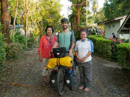 Our homestay in the middle of Thailand.// Unser Homestay in der Mitte von Thailand.