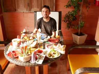 Königsfrühstück.// Breakfast for the king.
