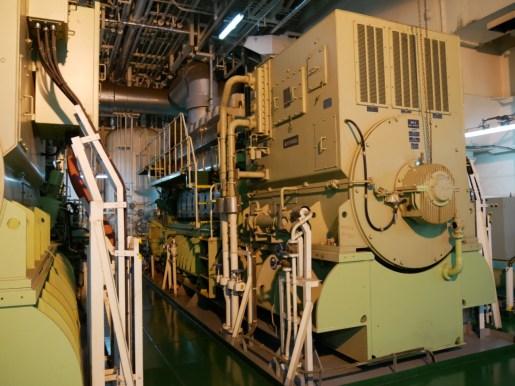 One of four generators.// Einer von vier Generatoren.
