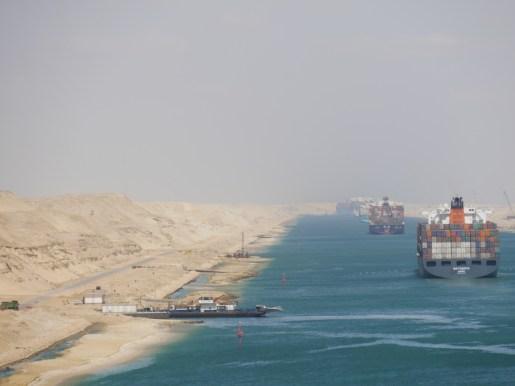 Suez channel.// Suezkanal.