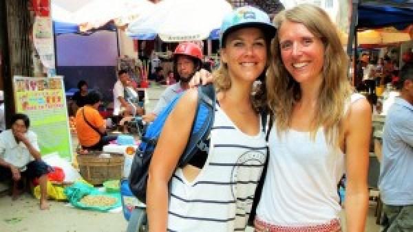 Marja op bezoek in China